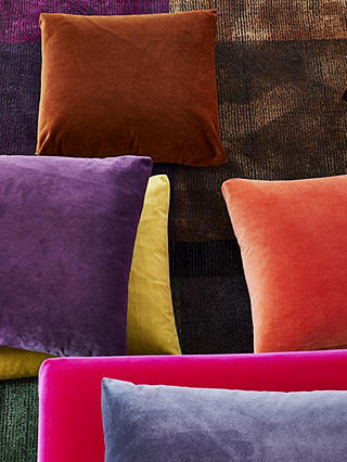 Buy Designers Guild Velluto Furnishing Fabric, Ochre Online at johnlewis.com