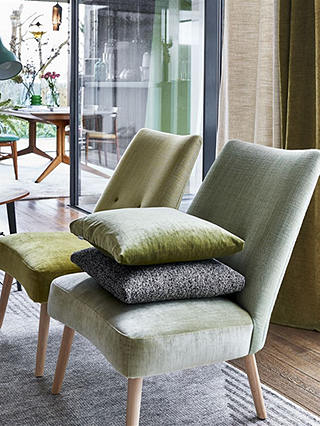 Buy Designers Guild Opera Furnishing Fabric, Steel Online at johnlewis.com