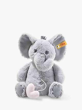 Steiff Soft Cuddly Friends Ellie Elephant Music Box