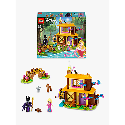 LEGO Disney Princess 43188 Auroras Forest Cottage