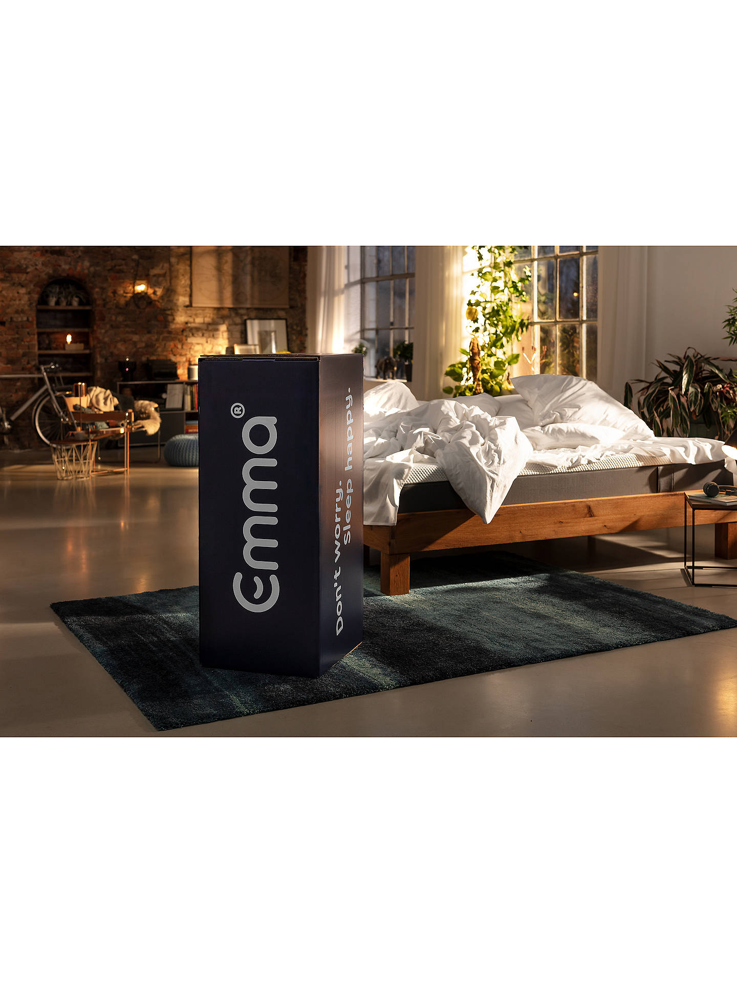 Buy Emma Hybrid Mattress, Medium Tension, Double Online at johnlewis.com