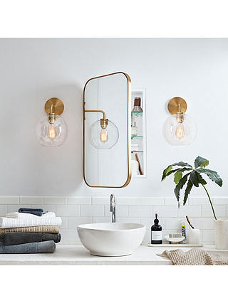 West Elm Seamless Single Mirrored, Bathroom Mirrored Cabinets