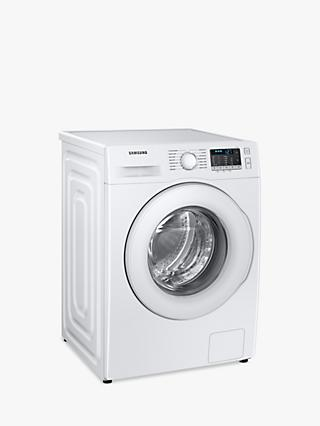 Samsung WW90TA046TT Freestanding Washing Machine, 9kg Load, 1400rpm, White