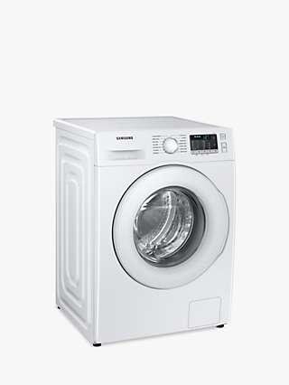 "Samsung Series 5 WW90TA046TT Freestanding ecobubbleâ""¢ Washing Machine, 9kg Load, 1400rpm, White"