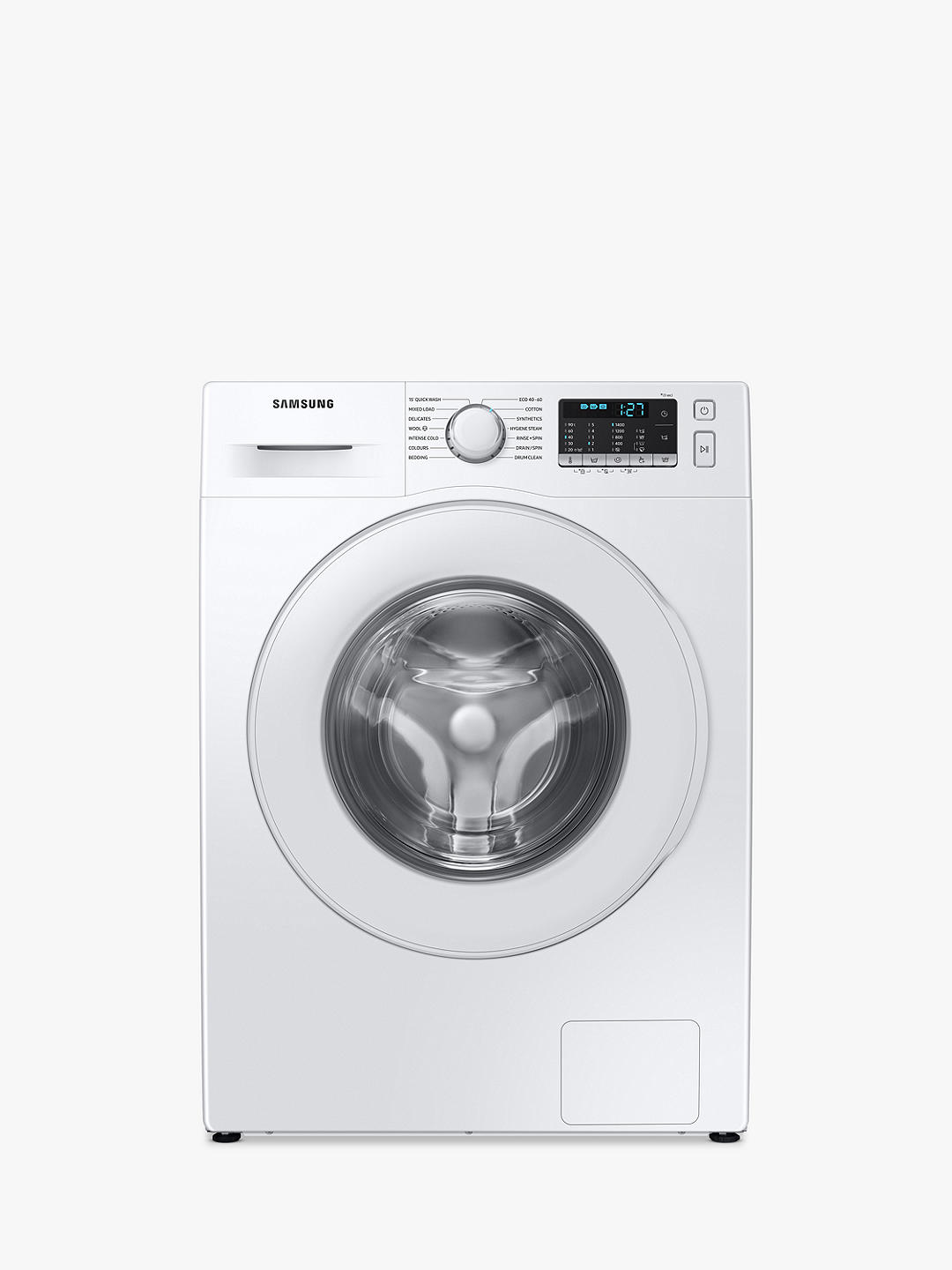 Buy Samsung WW90TA046TT Freestanding Washing Machine, 9kg Load, 1400rpm, White Online at johnlewis.com