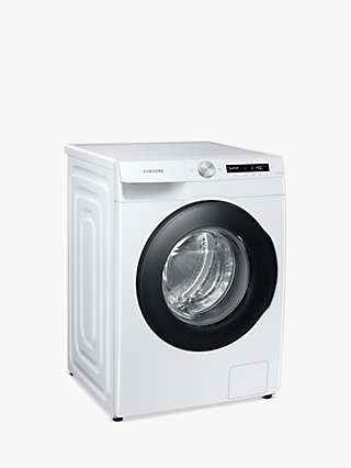 "Samsung Series 5+ WW90T534DAW Freestanding ecobubbleâ""¢ Washing Machine, 9kg Load, 1400rpm Spin, White"