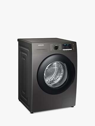 "Samsung Series 5 WW80TA046AX Freestanding ecobubbleâ""¢ Washing Machine 8kg Load, 1400rpm Spin, Graphite"