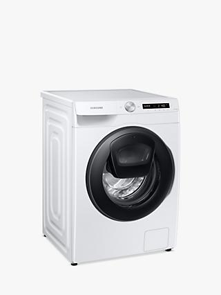 Samsung WW80T554DAW Freestanding Washing Machine, 8kg Load, 1400rpm Spin, White