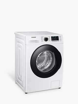 Samsung WW80TA046AE Freestanding Washing Machine, 8kg Load, 1400rpm Spin, White