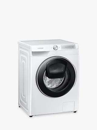 Samsung WW90T684DLH Freestanding Washing Machine, 9kg Load, 1400rpm Spin, White