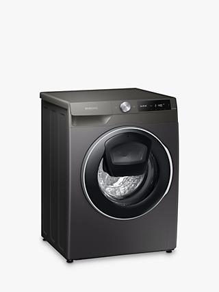 Samsung WW10T684DLN Freestanding Washing Machine, 10.5kg Load, 1400rpm Spin, Graphite