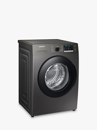Samsung WW90TA046AX Freestanding Washing Machine, 9kg Load, 1400rpm, Graphite