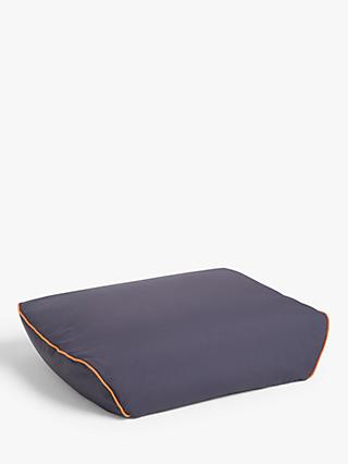 little home at John Lewis Gamer Indoor/Outdoor Bean Footstool, Navy
