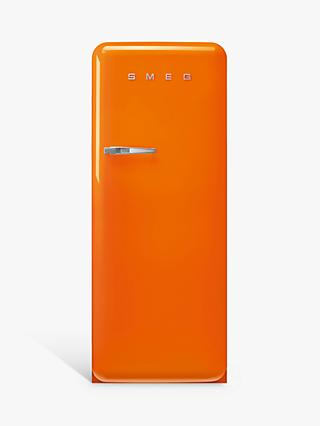 Smeg 50's Style FAB28R Freestanding Fridge with Ice Box, Right-Hand Hinge