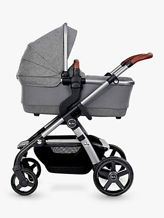 Silver Cross Wave 2020 Pushchair and Carrycot, Zinc