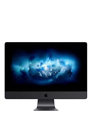 "2020 Apple iMac Pro 27 All-in-One, Intel Xeon W, 32GB RAM, 1TB SSD, Radeon Pro Vega 56, 27"" 5K Display, Space Grey"