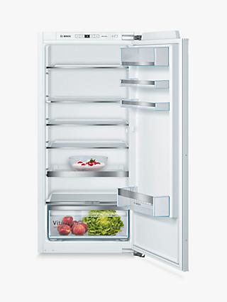 Bosch Serie 6 KIR41AFF0 Integrated Fridge, 56cm Wide, White