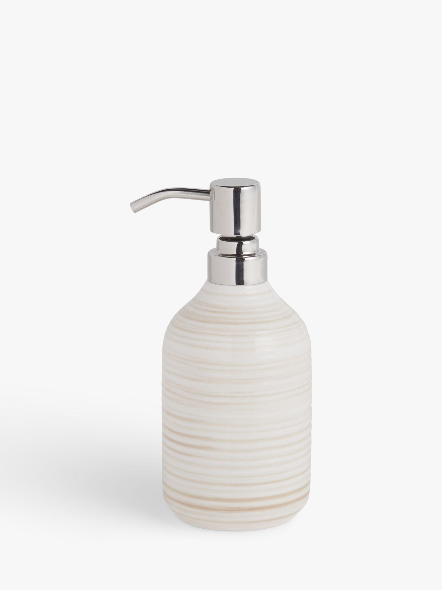 John Lewis & Partners Ceramic Soap Pump