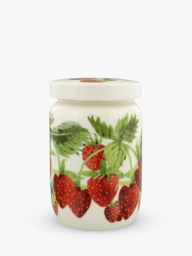 Emma Bridgewater Strawberry Kitchen Storage Jam Jar 600ml Red Multi