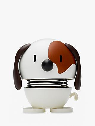 Hoptimist Dog Desk Ornament, White
