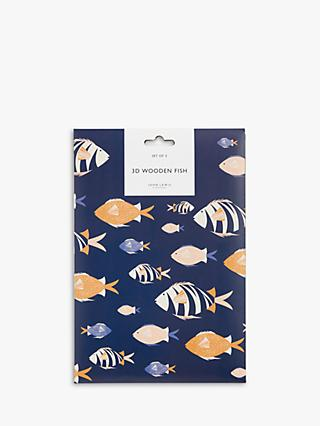 John Lewis & Partners Fish Friends Crafting Set