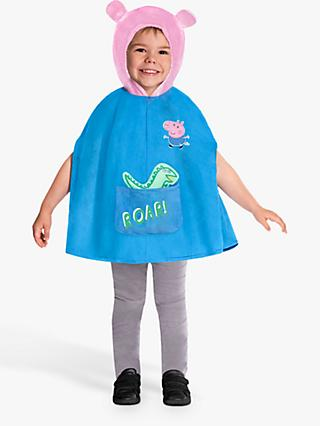 Peppa Pig George Children's Costume, 4-6 Years