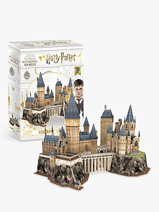 University Games Harry Potter Wizarding World Hogwarts Castle 3D Jigsaw Puzzle, 197 Pieces