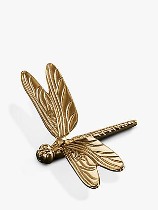west elm Dragonfly Ornament, Brass