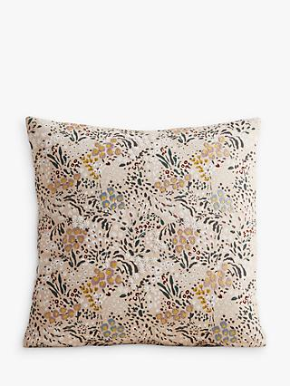 west elm Garden Party Cushion, Multi
