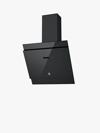 Buy Hoover H-HOOD 500 HDG6DCK3B 60cm Angled Chimney Cooker Hood, Black Online at johnlewis.com