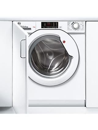 Hoover H-Wash 300 HBWS 49D1E-80 Integrated Washing Machine, 9kg Load, 1400rpm Spin, White