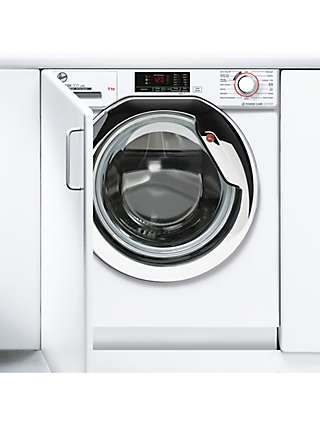 Hoover H-Wash 300 HBWS 49D1ACE/80 Integrated Washing Machine, 9kg Load, 1400rpm Spin, White