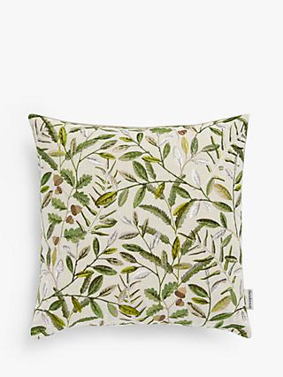 Sanderson National Trust Quercus Cushion, Pesto