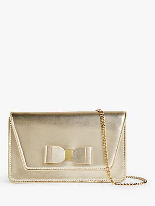 Ted Baker Keeiira Leather Matinee Clutch Bag