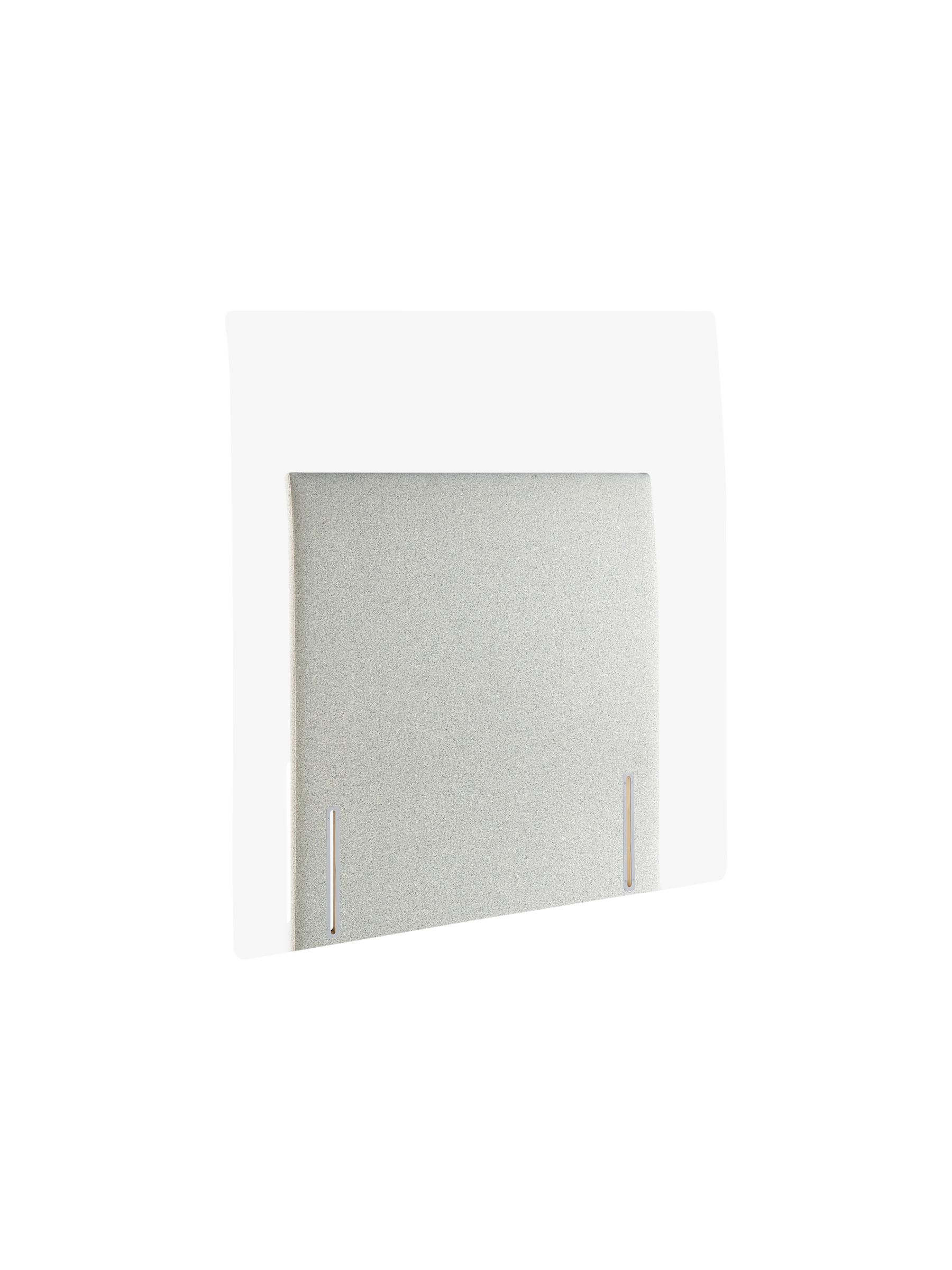 John Lewis & Partners Bedford Full Depth Upholstered Headboard, Single, FSC Certified (Softwood)