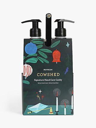 Cowshed Refresh Hand Care Caddy Bodycare Gift Set