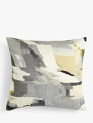 Harlequin Perspective Cushion, Gold