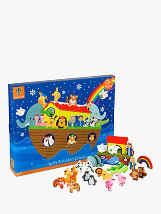 Orange Tree Noah's Ark Wooden Toys Advent Calendar