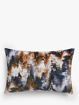 Harlequin Distortion Cushion, Slate