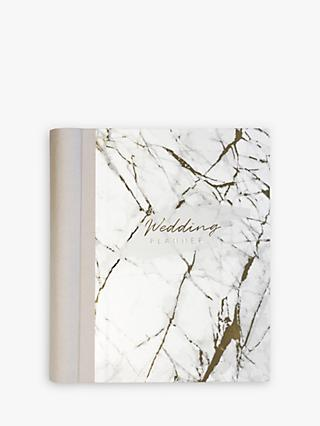 John Lewis & Partners Marble Wedding Planner