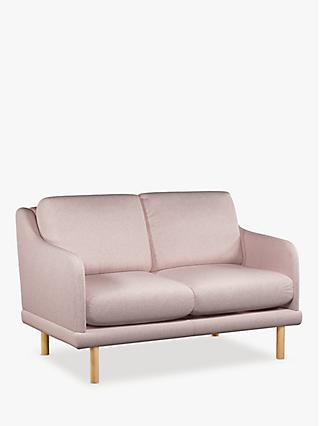 Sweep Range, House by John Lewis Sweep Small 2 Seater Sofa, Light Leg
