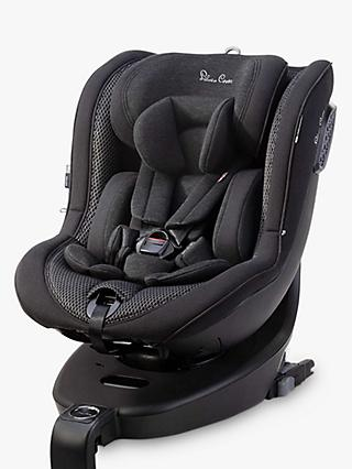Silver Cross Motion i-Size 360 Rotation Baby Car Seat, All Black