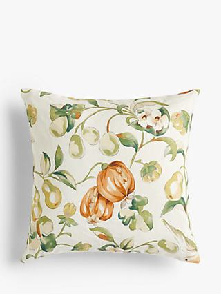 Sanderson Pear & Pomegranate Cushion, Orange