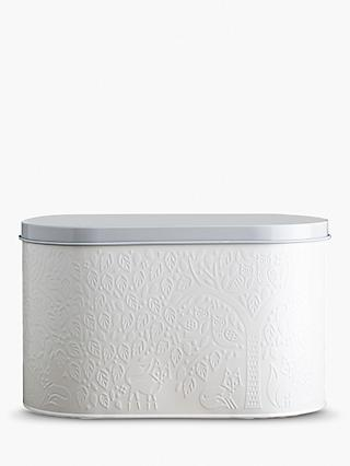 Mason Cash In The Forest Steel Breadbin, White