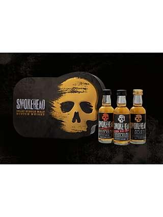 Smokehead Whisky Gift Tin, 3x 5cl