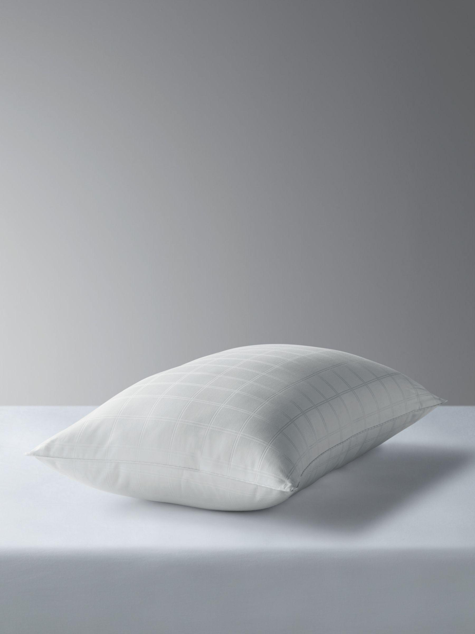 John Lewis & Partners Specialist Synthetic Hint of Silk Standard Pillow, Soft/Medium