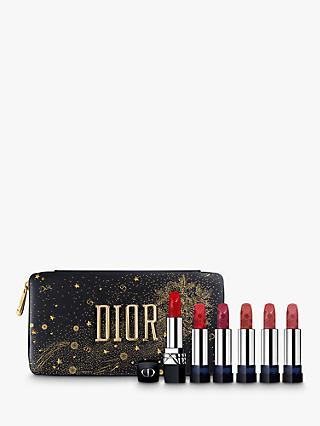 Dior Rouge Dior Golden Nights Refillable Lipstick Makeup Gift Set