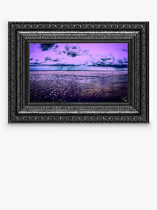 YARDART - Charlotte Clemence 'Her Favourite Place' Outdoor Framed Print, 71 x 91cm, Purple