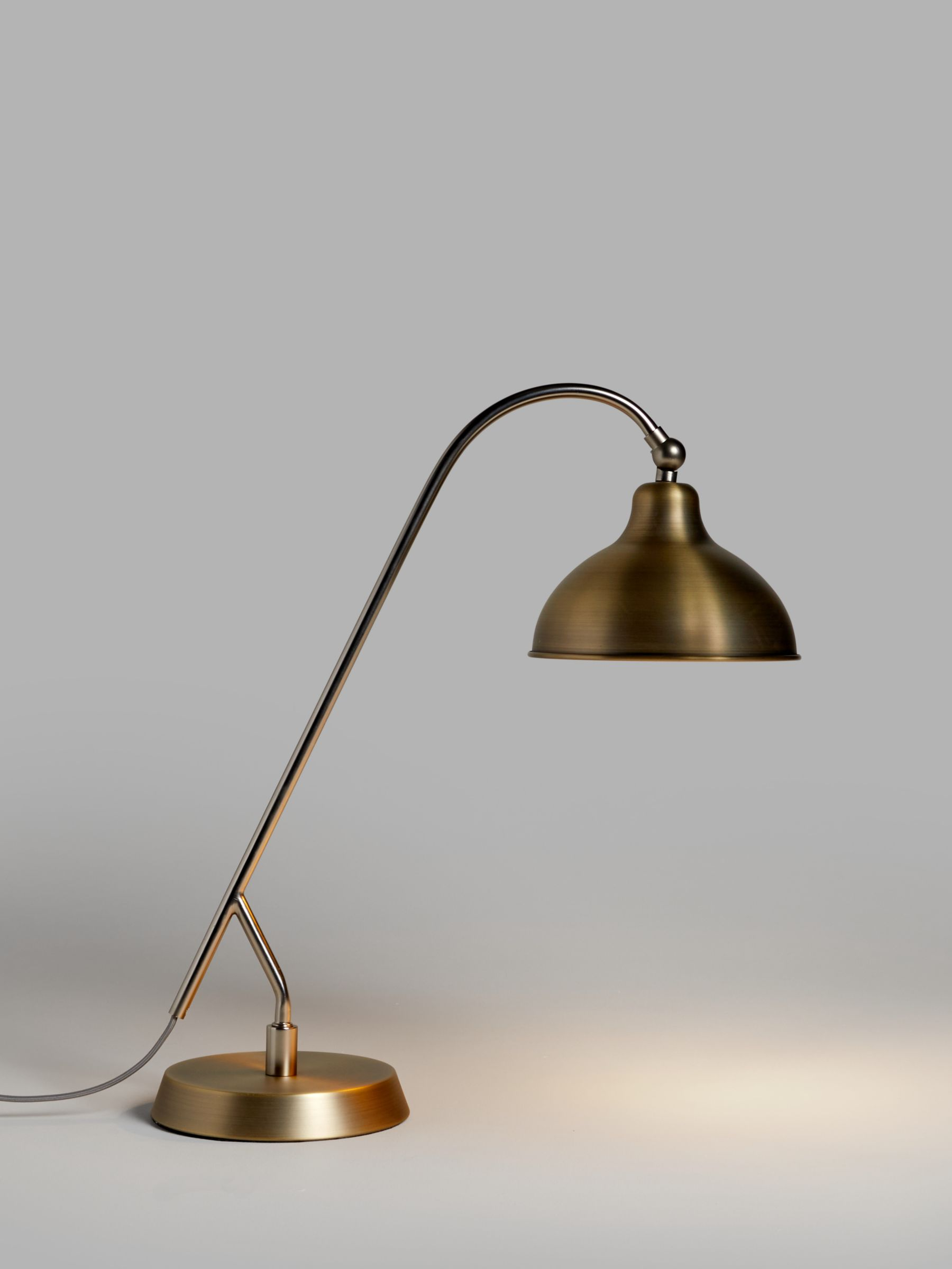 John Lewis & Partners Barn Rustic Desk Lamp