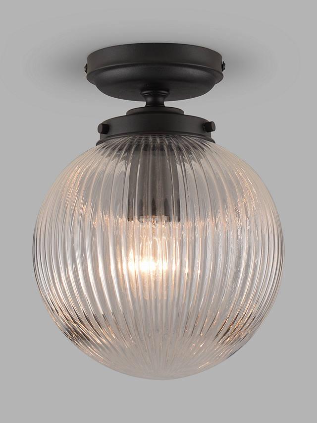John Lewis Partners Vintage Globe, Globe Outdoor Light Ceiling